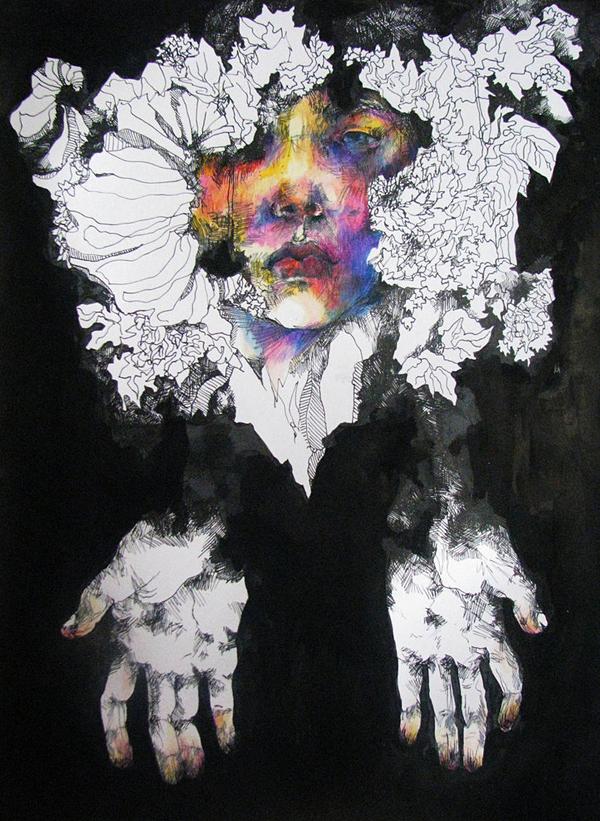 """vufus: """"Faceless"""" Artist:Magdalene Nilges"""