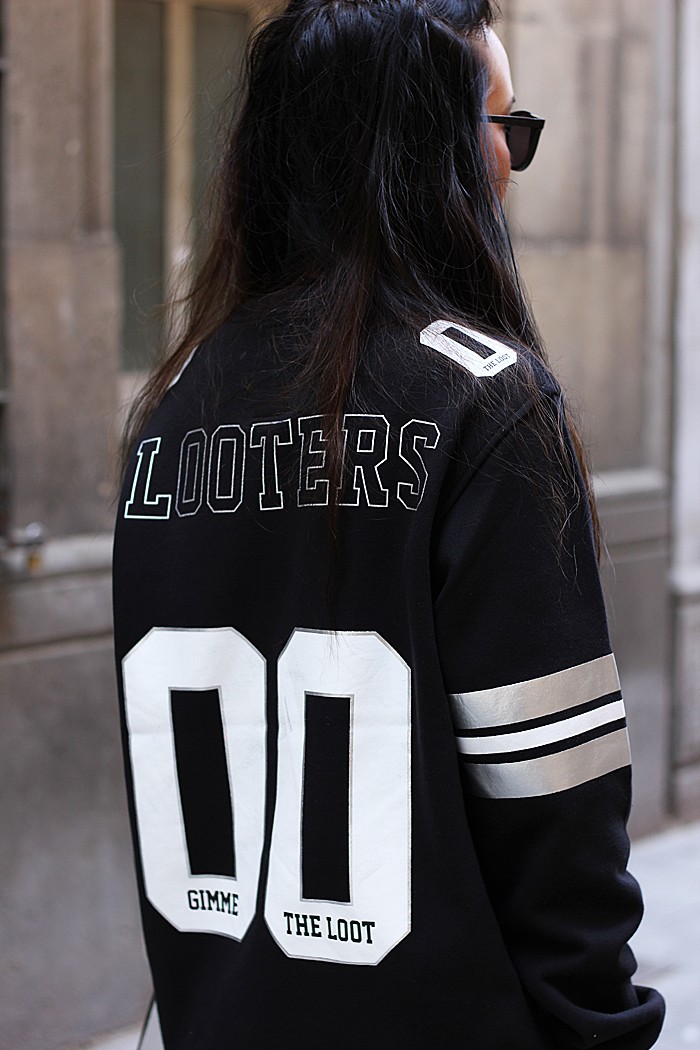 yanahandbags: 'Gimme the loot' jersey FROM: http://d4r1o.tumblr.com/