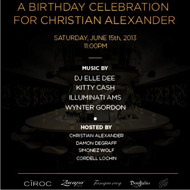 Come and celebrate @societyplayer birthday tomorrow night at No.8! RSVP: christian@no8ny.com