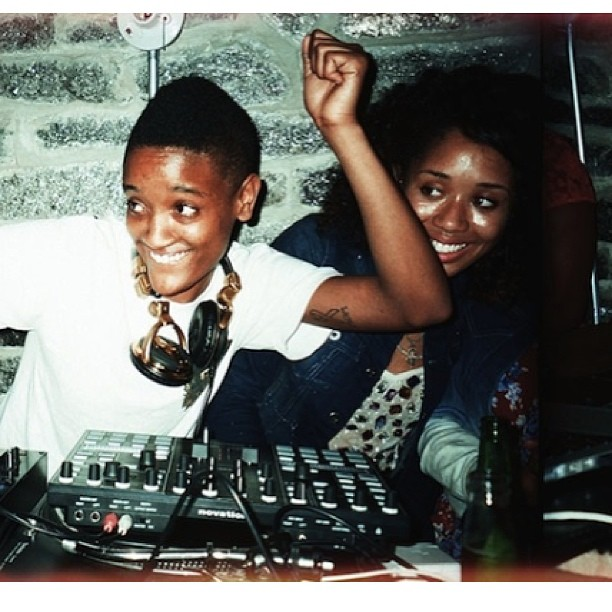 Me and @intanetz Syd djing for her bday at Imok. Photo credit: @vice #toomuchfun