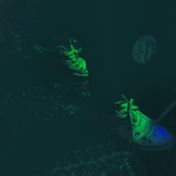 Footsteps…