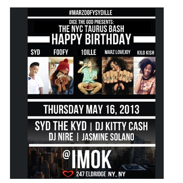 Taurus Love tomorrow w/ my girls @imok