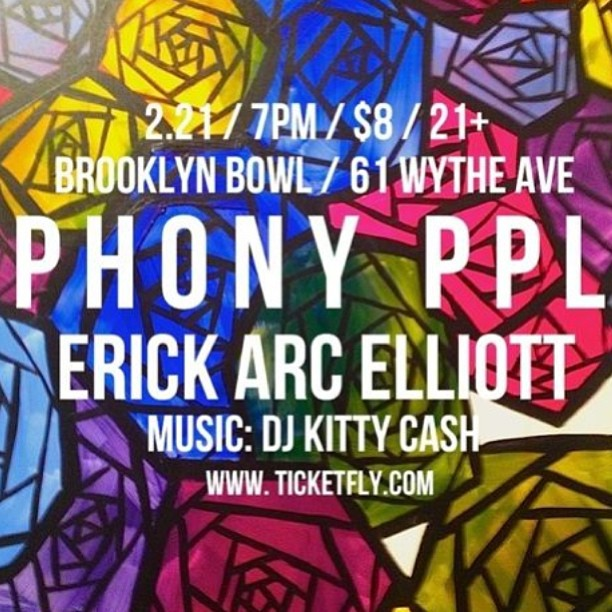 I guess I'm on a roll tonight. Come to BK bowl this week! Warming it up for @phonyppl and @ErickArcElliott
