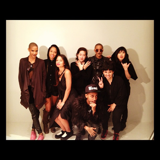 Amazing photo shoot with @oaknyc @cocoandbreezy @jasminesolano @justjubilee  @iamg_lee