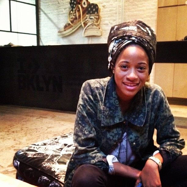 Princess Zamunda aka @kilokish @rubbertracksnyc (Taken with Instagram)