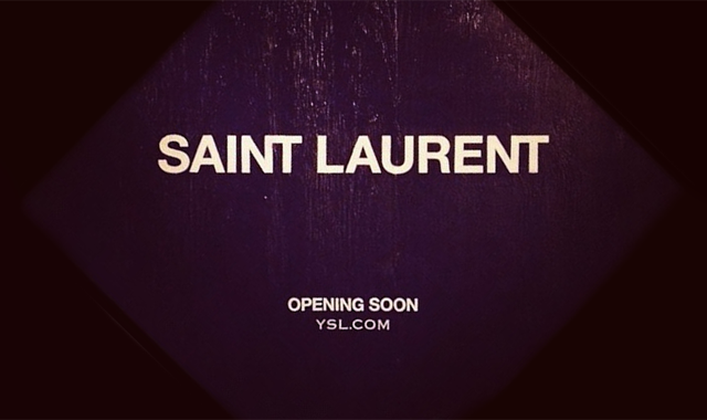 "THE NEW…    ""SAINT LAURENT """
