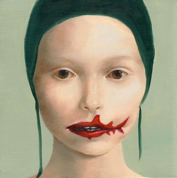 Painting by  Aniela Sobieski    Shark Mouth