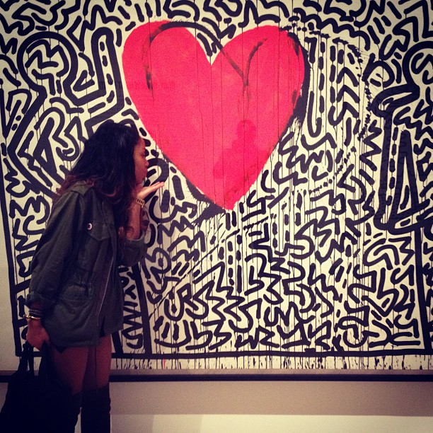 Kitty Cash x Keith Haring (Taken with Instagram)