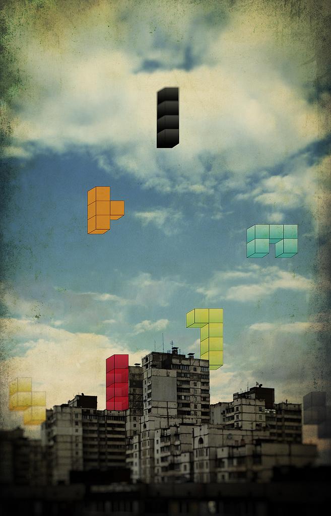 Inspiration: Memories       City Tetris   - by  Andrey Turik