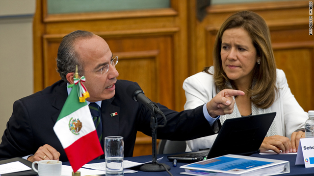 "Mexico's president approved several changes to the country's constitution Wednesday aimed at cracking down on human trafficking. President Felipe Calderon announced two of the changes - one that requires those accused of human trafficking to be imprisoned during trials, and one that guarantees anonymity of victims who denounce the crime. ""It is important that they can give their testimony to the authorities and to society without being at risk,"" he said. Calderon gave Mexico's Congress 180 days to approve a new nationwide human trafficking law that will reform and streamline how authorities handle such cases across the country. ""There are thousands and thousands of cases, in a society that is still unaware of the seriousness of this crime,"" he said. ""We have to break through this curtain … that is hiding from the Mexicans a criminal reality that is in front of us."" To read this article in full please click on the photo."