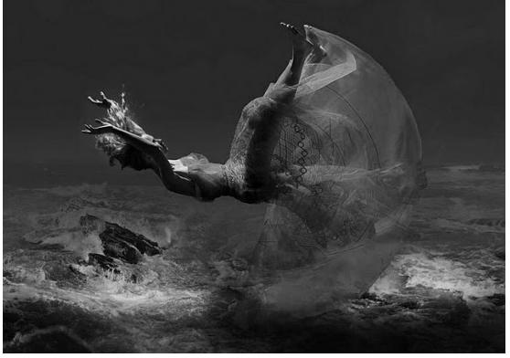 Inspiration: Fallen.   Art by Simon Procter