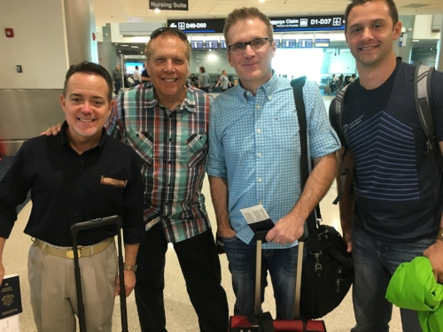 Some Faith Foundry pastors on their way to Nicaragua!
