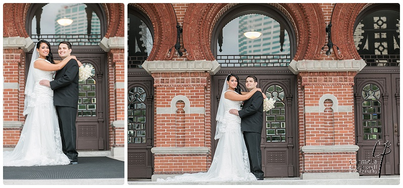 Rosaleen built a window of an hour into the day's timeline for couple formal portraits at the University of Tampa. Such a great, great idea!