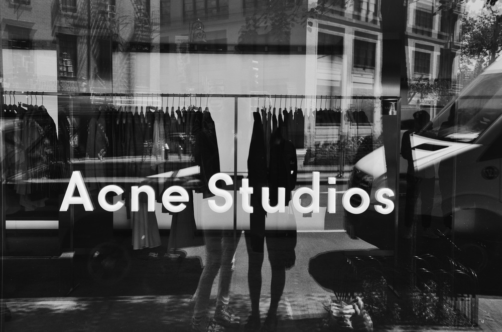 View from the window of Acne Studios Horatio Street.