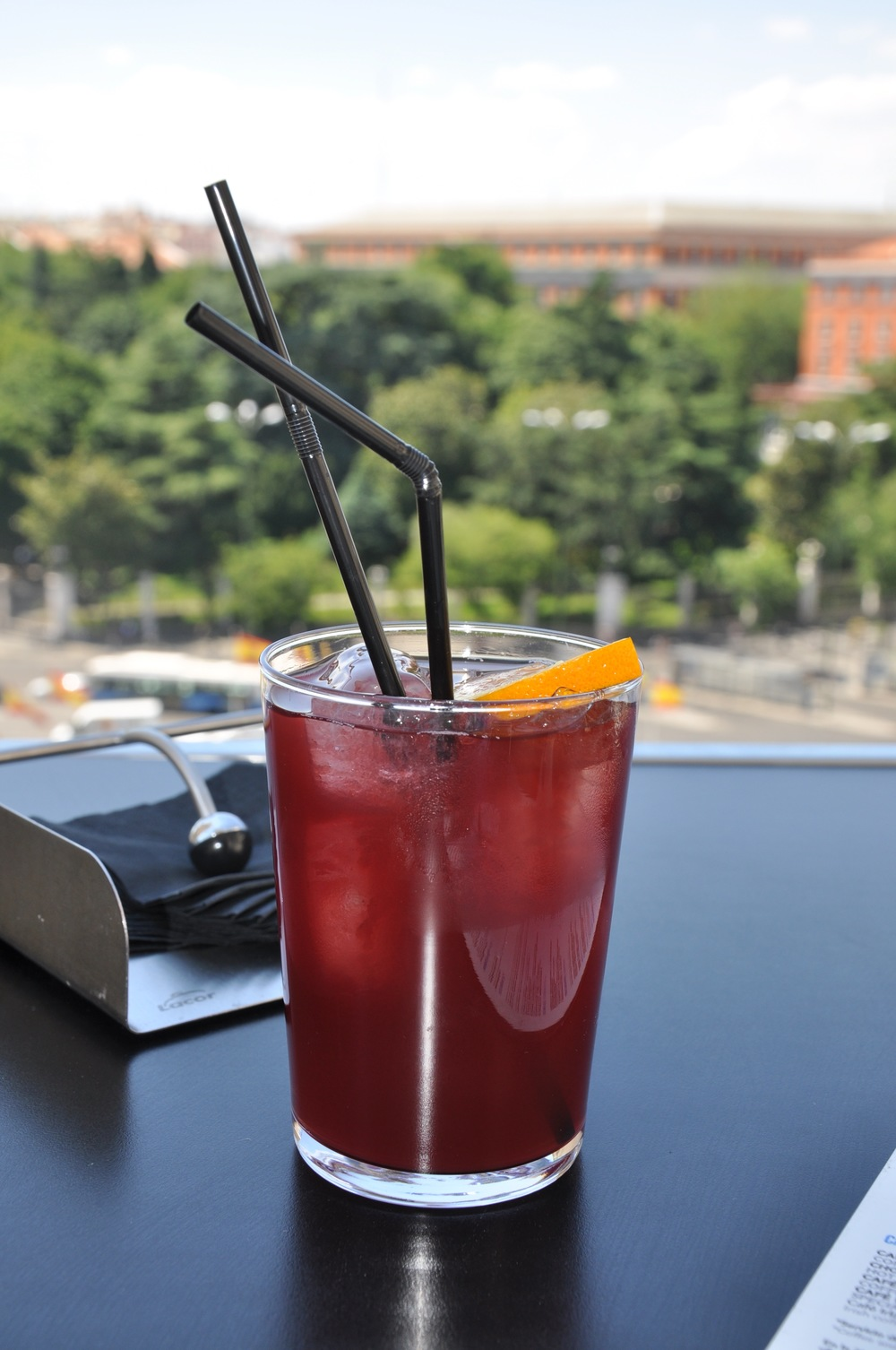 The Sangria is totally recommended.