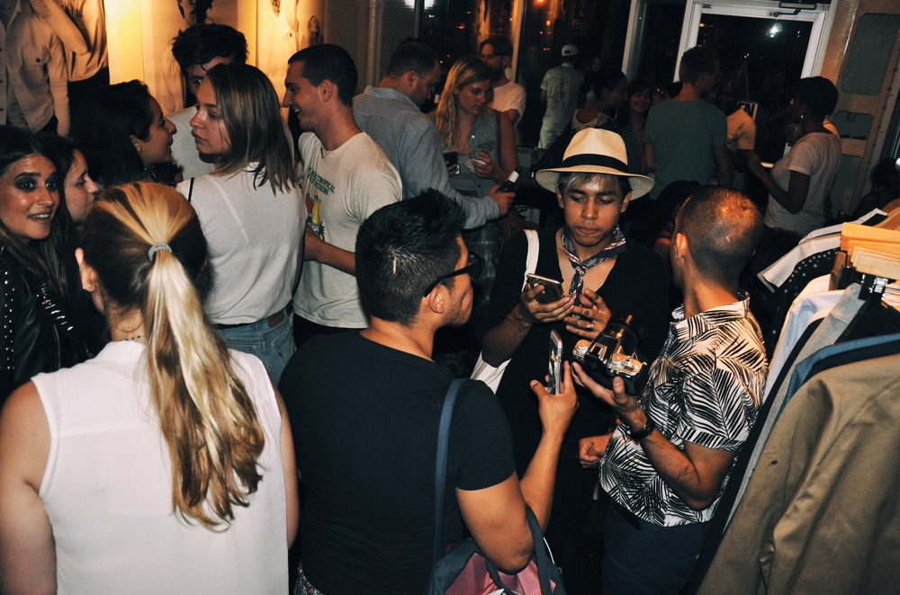 NYFWM Party Scene at Cafe Henrie for Basic Rights SS17.