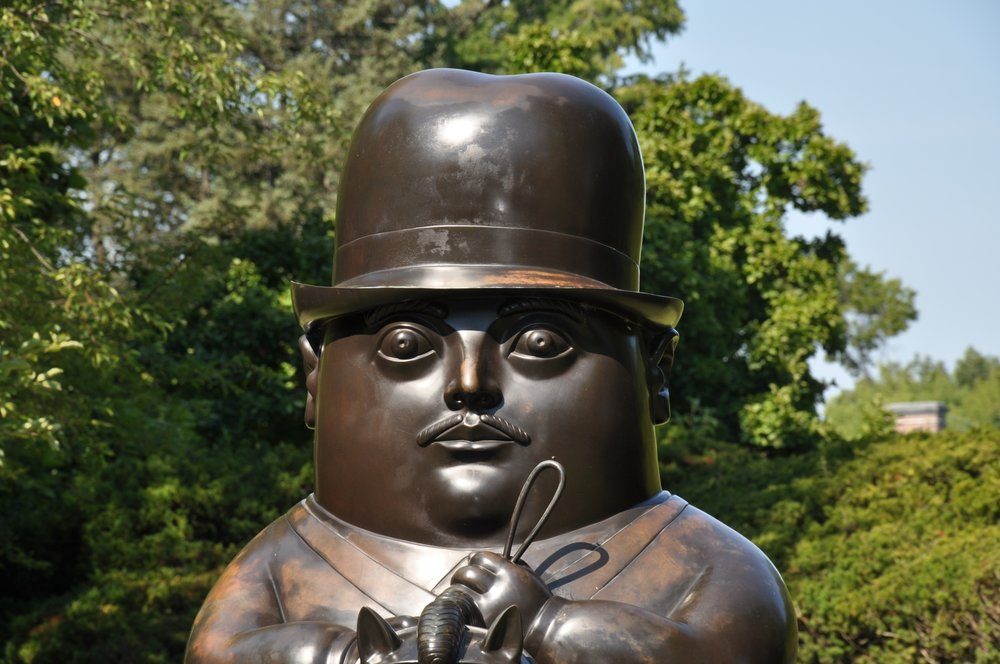 Via Sculpture Garden at the Nassau County Museum of Art