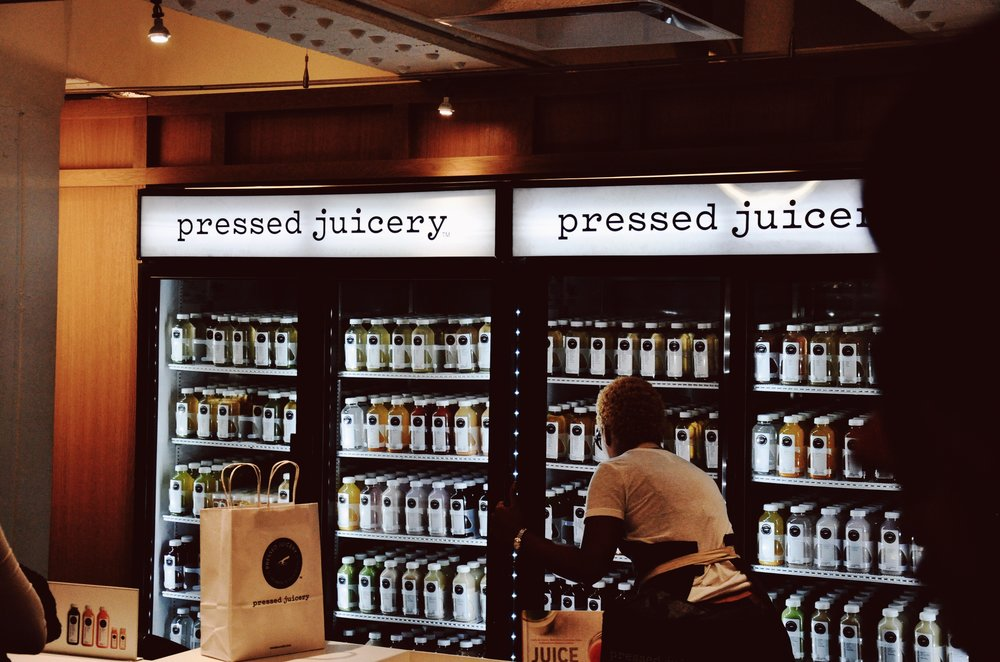 A juice-lovers heaven down in TurnStyle!
