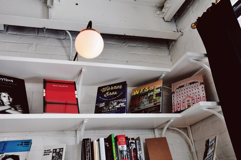 Bookstore vibes.