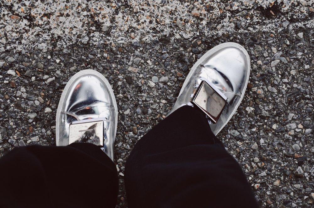 Details on my super worn Acne Studios Adrian sneakers.