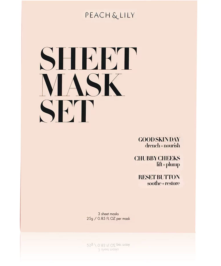 PEACH & LILY Sheet Mask Set $15