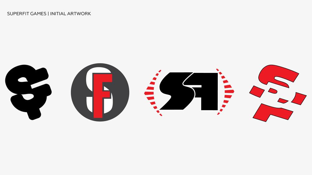 SuperFit Games Logo Artwork Initial