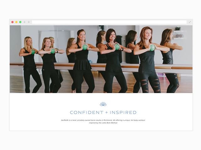 It was a pleasure working with the lovely ladies of @barrevastudio on their new website. Give them a visit and get a jump on those New Years resolutions!