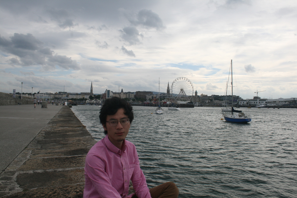 Steve Chen worked at an NGO in Dublin in 2014.