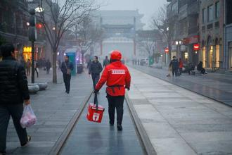 Roma Eisenstark interviews China's delivery men