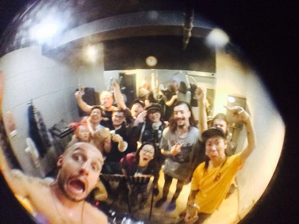 Selfie by Daniel Rothwell and The Beijing Misfits