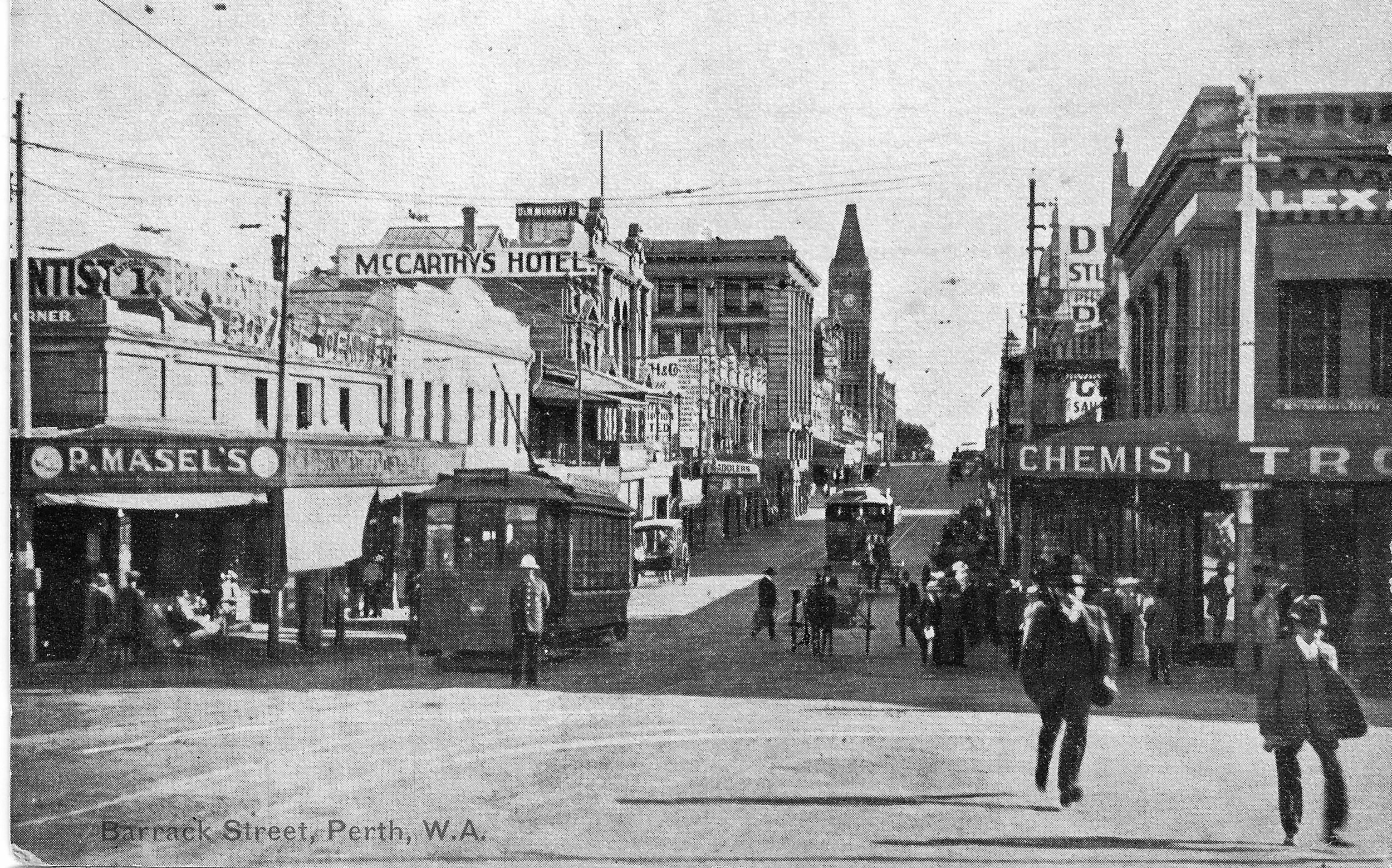 The Museum Of Perth Calls Barrack Street Home, And Although Nowadays The  Street Feels Like A Forgotten Part Of The City, It Has A Rich History And  Played An