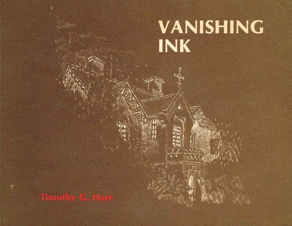 Vanishing Ink     Timothy G.Hare