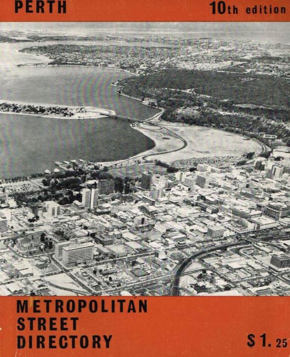 Metropolitan Street Directory : Perth   City of Perth