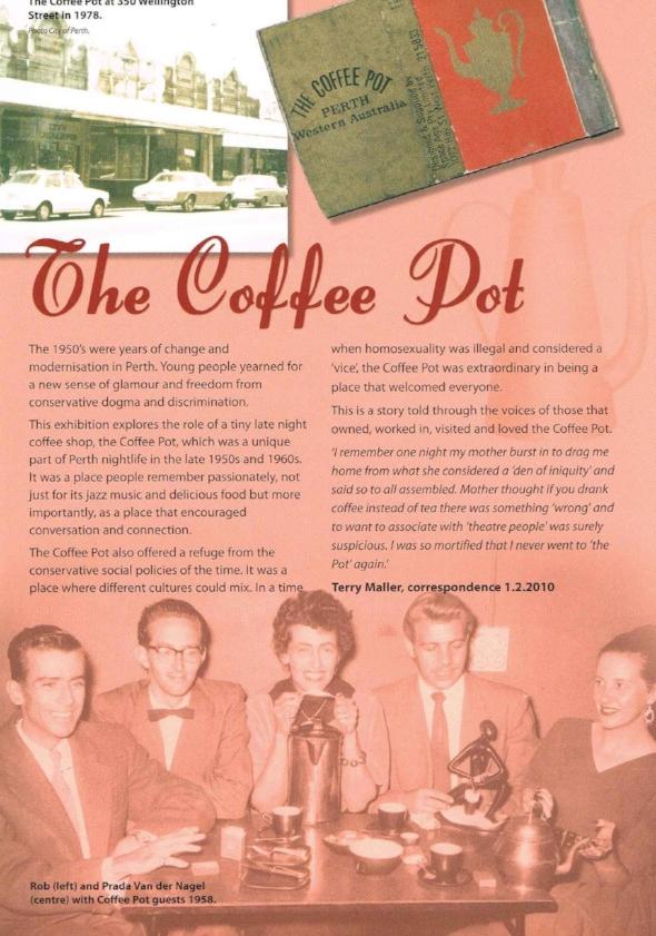 The Coffee Pot City of Perth, Jo Darbyshire