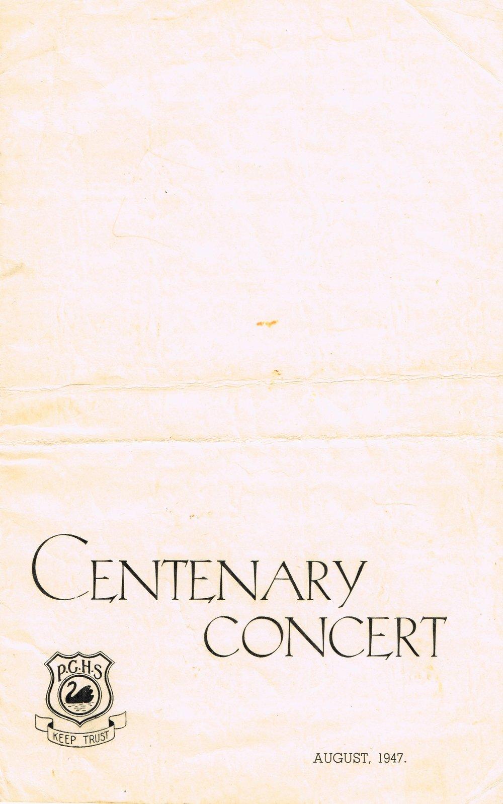 Centenary-Concert-August-1947