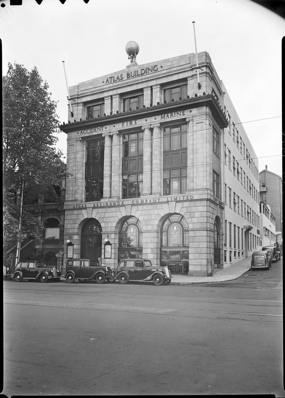 1948 Atlas Building State Library of Western Australia Image: SLWA 032787PD