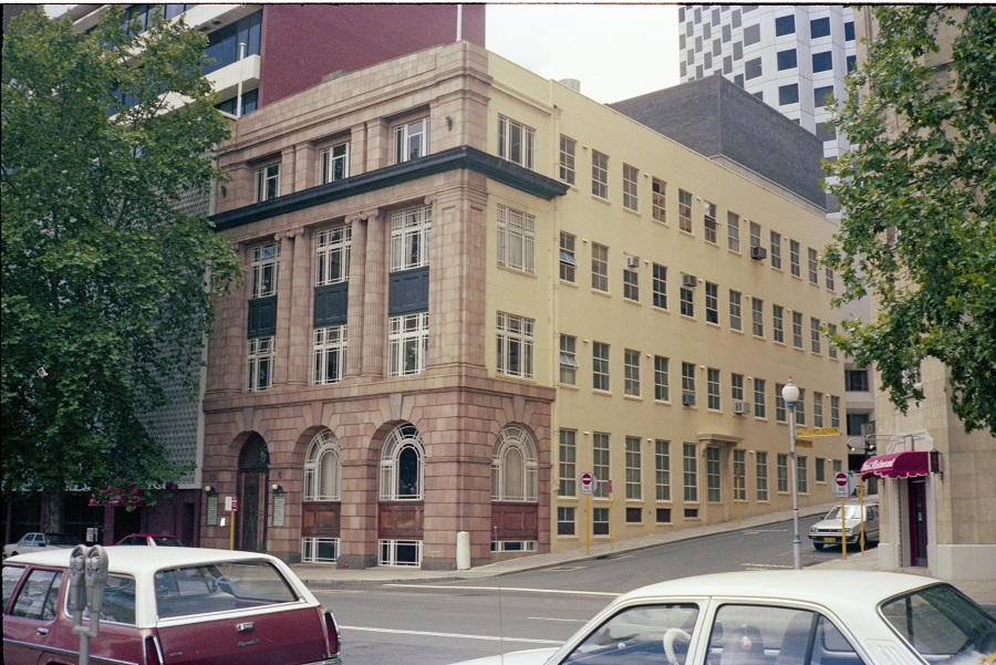 January 1983 The Atlas Building State Library of Western Australia Image: SLWA 312406PD