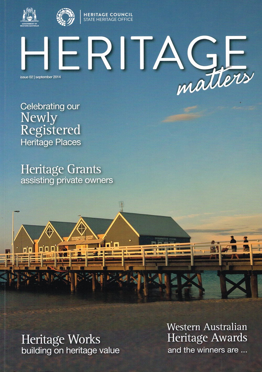 Heritage Matters State Heritage Office