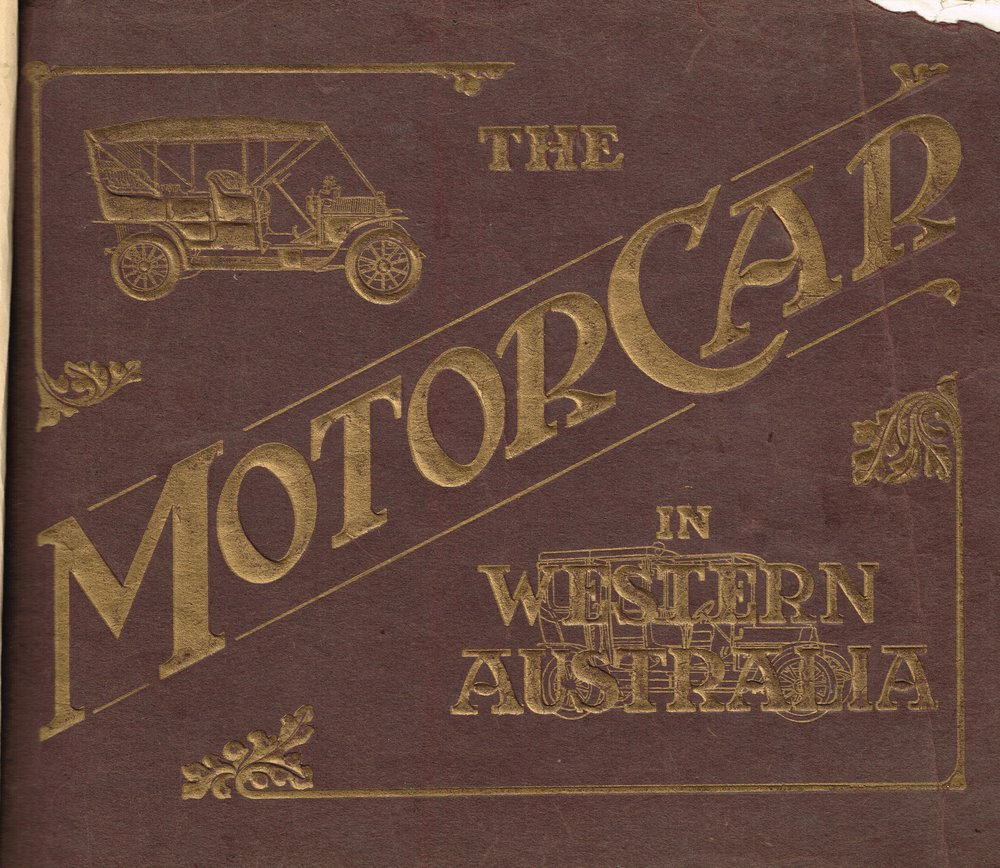 The motor car in Western Australia NA
