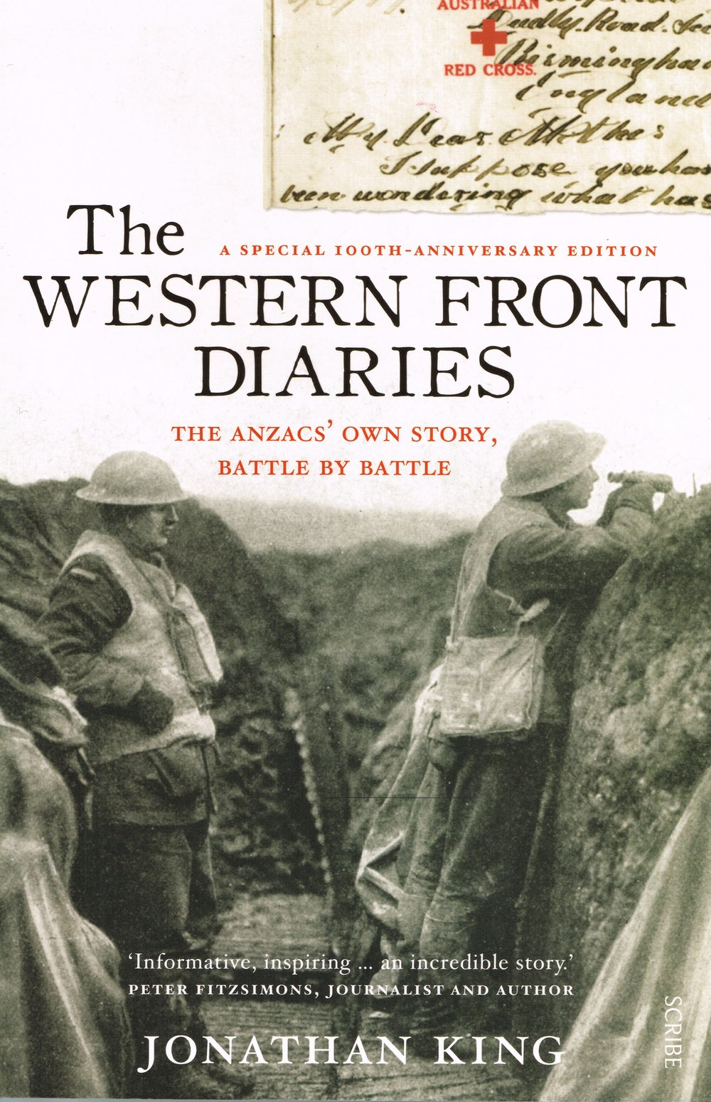 The Western Front diaries : The Anzac's own story, battle by battle Jonathan King