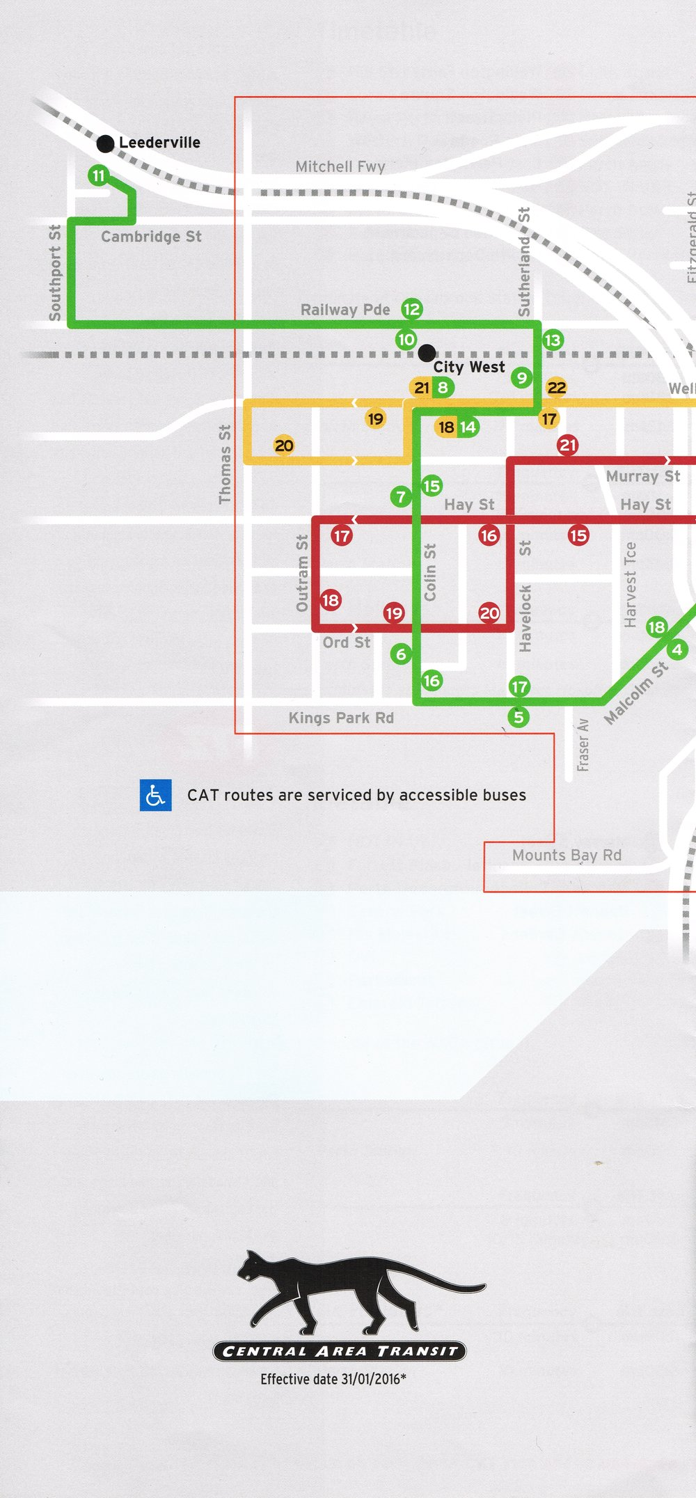 Central Area Transit Transperth