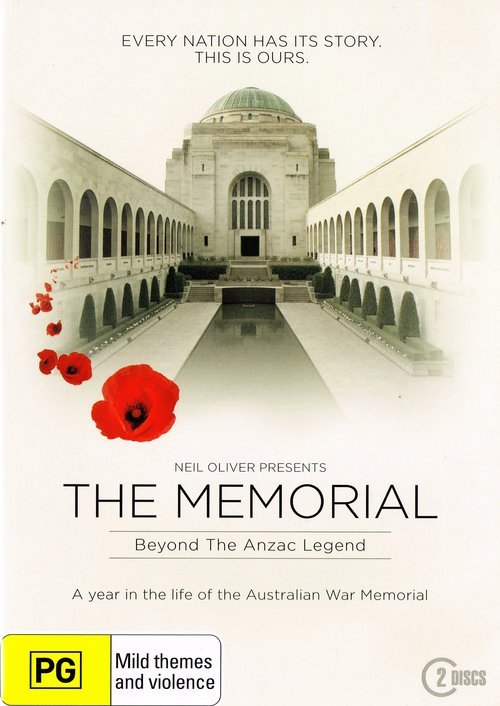 The Memorial : Beyond the Anzac Legend (DVD) John Mcavoy and Jannie Hosking, presented by Neil Oliver