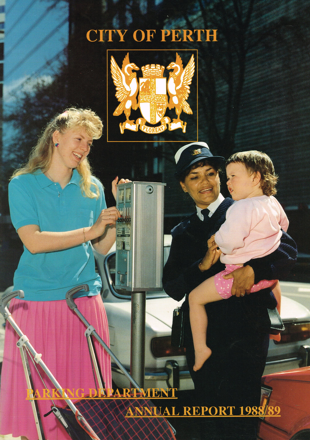 City of Perth Parking Department Annual Report 88-89  City of Perth Parking Department