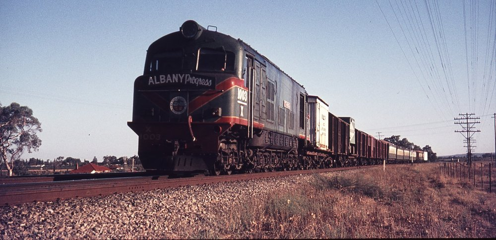 Albany Progress on its way to Perth, 27 Feb 1969 (Supplied: Weston Langford)