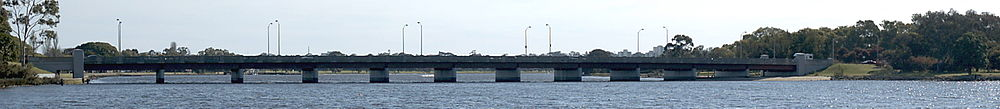 The Causeway, 2005. (Supplied: Wikimedia Commons)