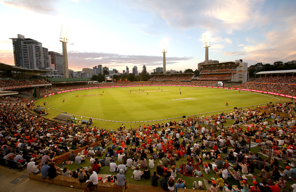 Perth Scorchers verse Brisbane Heat in the KFC Big Bash League at the WACA, 5 January 2017. (Supplied: perthscorchers.com)
