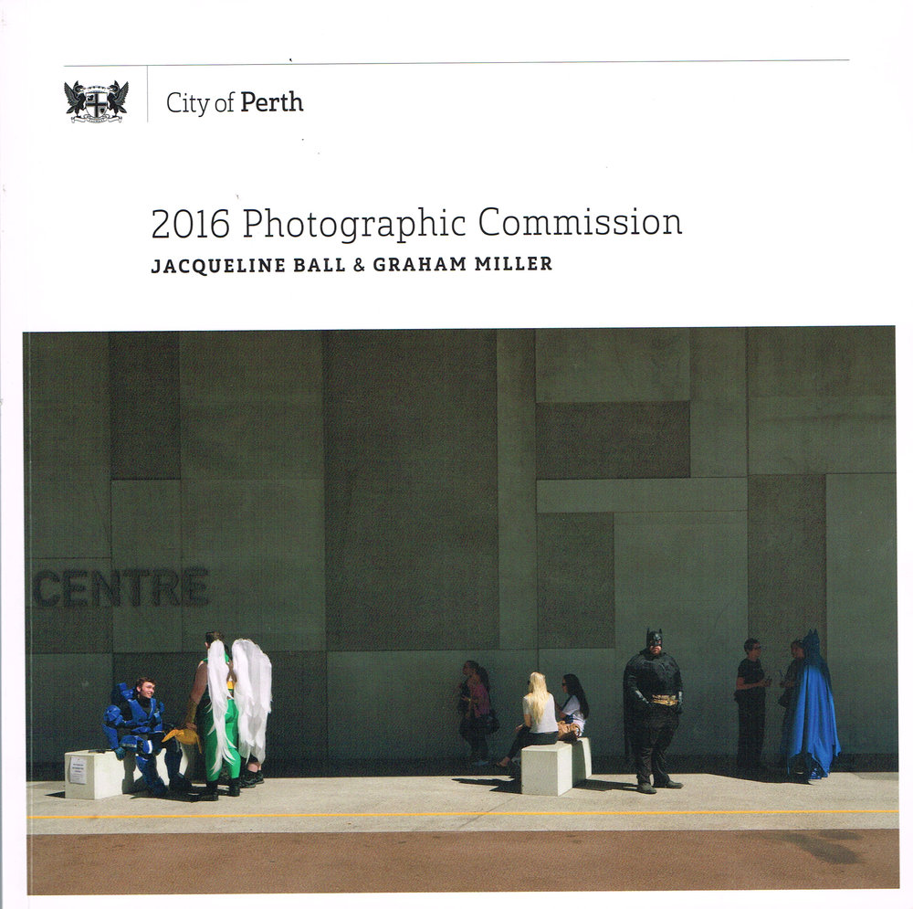 2016 Photographic Commission  Jacqueline Ball & Graham Miller with the City of Perth