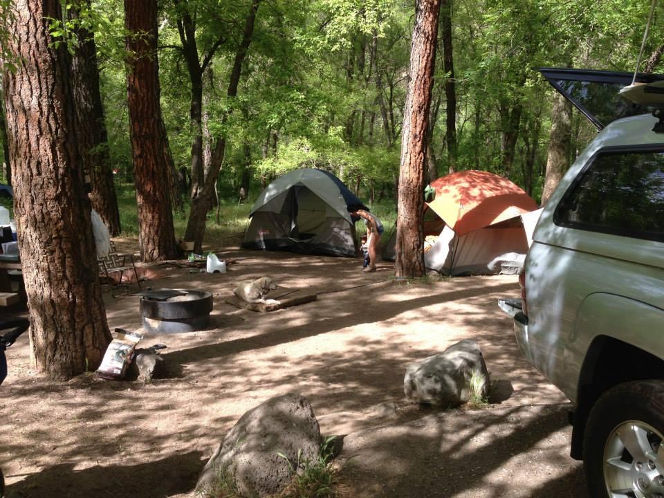 Cave Springs Campground, Sedona AZ May 21 2013