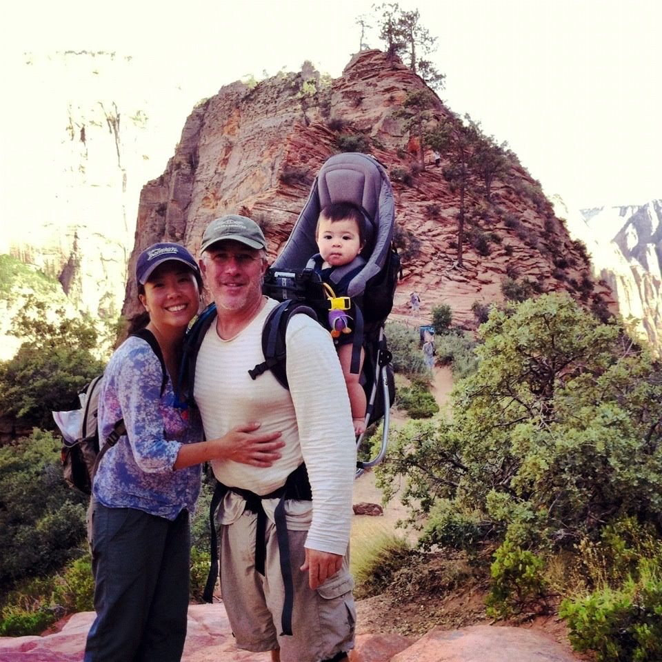 Scott's Lookout at Angels Landing Trail, Zion National Park Aug 2012