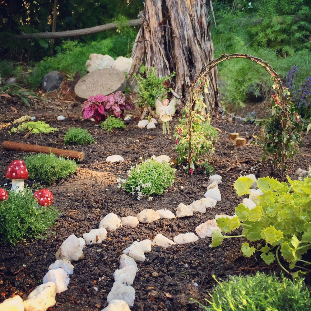 How to create your own magical miniature fairy garden my for Landscaping your own garden